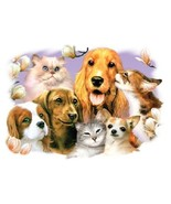 Pet Party 3   Dogs and Cats Tshirt  Sizes/Colors - $12.82 - $16.78