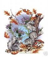 Thistle Creek Squirrels  Tshirt   Sizes  White - $5.89 - $9.85