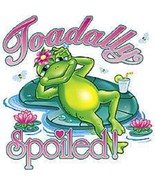 Toadally Spoiled  Frog   Hoodie   Sizes/Colors - $24.70 - $33.61