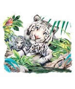 White Tiger Family  Hoodie Sizes/Colors - $24.70 - $32.62