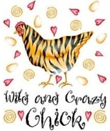 Wild And Crazy Chick  Chicken  Tshirt    Sizes/... - $12.82 - $16.78