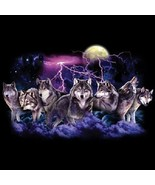 Wolf Lightning New Wolf  Tshirt    Sizes/Colors - $11.83 - $15.79