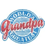 Worlds Greatest  Grandpa  Circle  Tshirt   Size... - $12.82 - $16.58