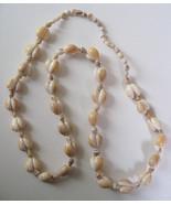"1970s Authentic Hawaiian Puka 33"" Necklace Cowr... - $9.89"