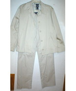 Gap Suit Separates Blazer Jacket Pants 6 Beige ... - $100.00