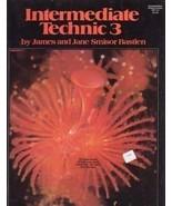 Bastien Intermediate Piano Course Technic 3 - $4.95
