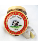 Limoges Box - French Camembert Cheese Container... - $99.00