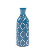 Blue Stoneware Flower Vase - $22.00