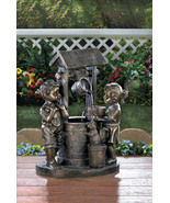 Water Fountain Children at Wishing Well - $138.00