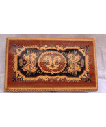Marquetry Vintage Italian Wood Jewelry Box 10 1... - $230.00