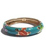 Hawaiian Style Cloisonne Honu Turtle Teal Multi... - $8.90