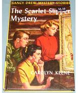 Nancy Drew #32 Scarlet Slipper Mystery Orig Text - $9.99
