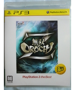 Musou Orochi Z, PS3 game (AS) ( best ) ( Jap + ... - $39.90