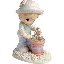 Precious Moments A Tender Touch Helps Love Bloo... - $19.79