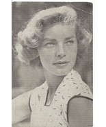 Signed LAUREN BACALL Autograph Photo Postcard M... - $187.11