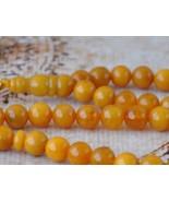 Baltic genuine amber Prayer beads/ 99 beads - $161.50