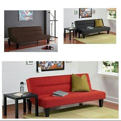 modern microfiber futon living room furniture office apartment dorm