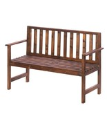Wood Bench Yard Garden Chair - $138.00