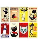 8 Assorted Cat Magnets - $22.49