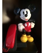 Walt Disney Mickey Mouse Push Button Telephone - $84.15