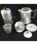 2 Aluminum Ware Percolators Coffee Pots Drip-O-... - $22.00
