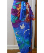 Sarong Wrap by Gottex Multicolor Beach Cover - $20.00