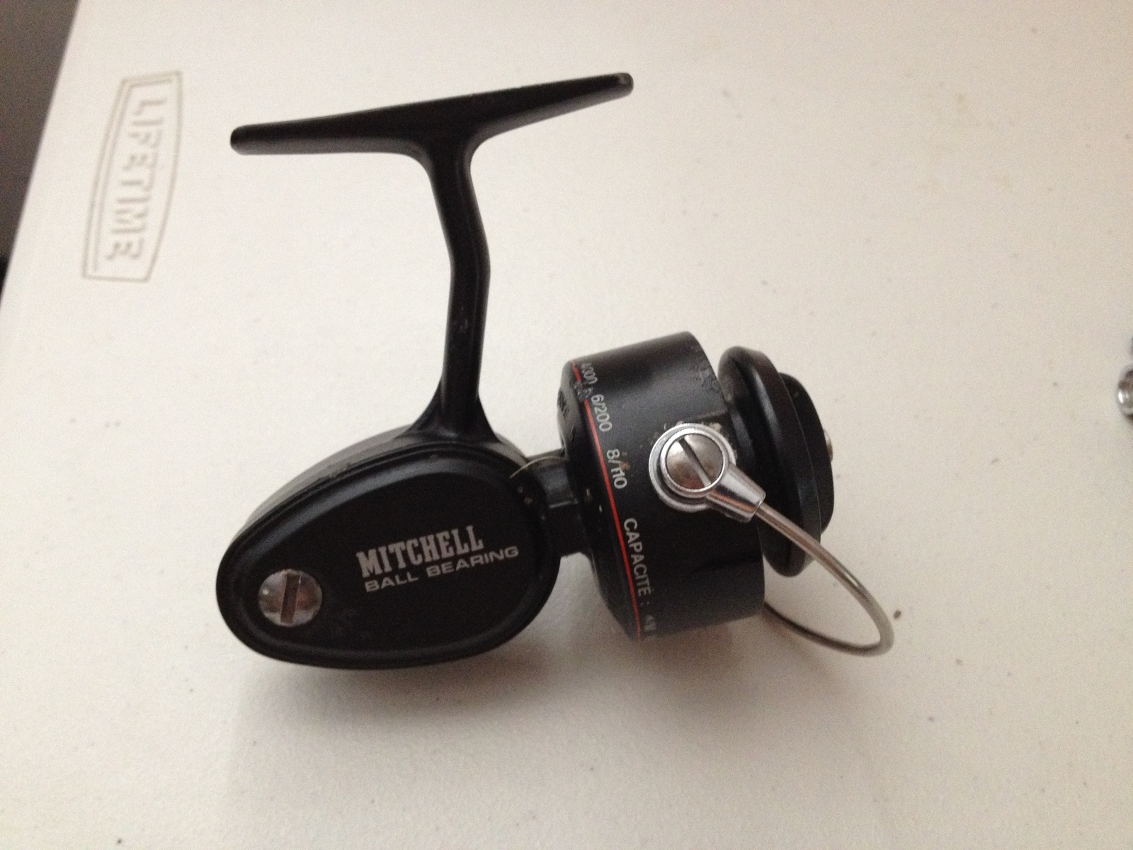 Vintage mitchell 308a spinning reel missing handle for Old mitchell fishing reels