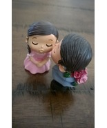 Cake Topper Engagement Wedding Propose Kissing ... - $12.99