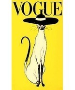 Vogue Cat Ad Magnet - $7.99