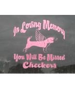 In Loving Memory Memorial Vinyl Graphic Sticker... - $7.50
