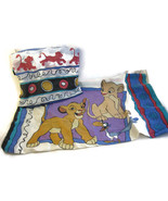 Vintage Lion King Fitted Sheet Pillow Case Teen... - $15.00