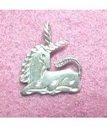 Unicorn charm for pendant or charm bracelet - $7.00