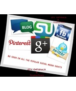 I'll Promote 6 items for 90 days on Social Medi... - $56.00