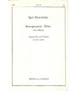 Vintage Choral Sheet Music: Bogoroditse Dievo -... - $5.00