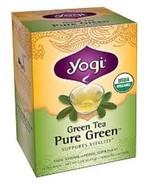 Yogi Organic Herbal Tea Pure Green - $8.86