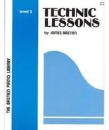 Bastien Piano Library Technic Lessons Level 2 - $4.45