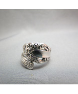 Vintage Community Silver Plated Spoon Ring Scro... - $36.62