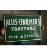 Vintage Sign Allis Chalmers Tractors Parts & Se... - $2,251.60