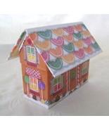 Recipe File Gingerbread House w/Recipes & Cooki... - $16.00