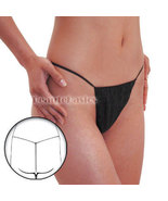 12 Pcs Disposable Tanning Thongs Bikinis Pantie... - $6.98