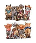 Cowboy Cats  Front and Back Print   Tshirt   Si... - $12.82 - $16.78