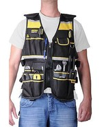 Stanley Electrician Tool Vest Bag Carpenter Fra... - $61.99