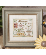 The Summer Flower cross stitch chart Jeanette D... - $10.80