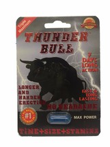 Thunder Bull Triple Maximum Male Enhancement Se... - $25.99