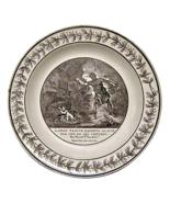 Choisy-le-Roi Creamware Plate Daphnis & Chloe, ... - $115.00