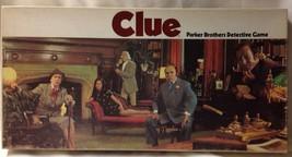 Original Clue Detective Board Game 1972 Parker ... - $21.94