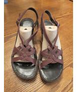 NWOT Dockers Women's Sandals 10M Wedge Heel Str... - $19.78