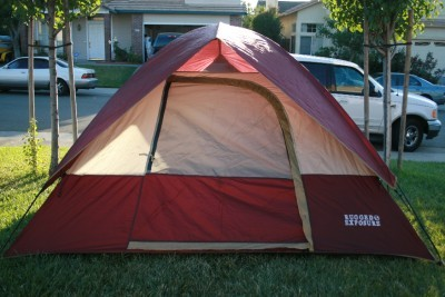 If not you might set it up and post a picture. People can get a better idea of their opinion of its suitability for the playa. & Tent questions - ePlaya