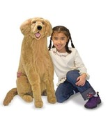 Melissa & Doug Golden Retriever Plush Lifelike ... - $69.29
