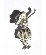 Hawaiian Sterling Silver Jointed Moveable Hula ... - $22.76